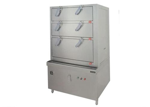 中餐设备——三门海鲜蒸柜