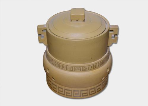 密胺餐具—黄色砂壶