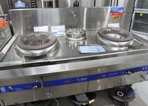 厨房展示设备——威猛达大锅灶