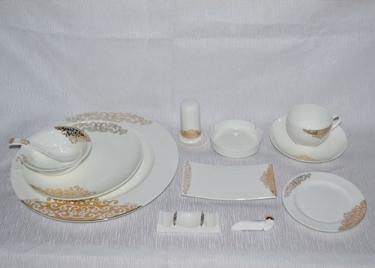 陶瓷餐具—祥云十二件