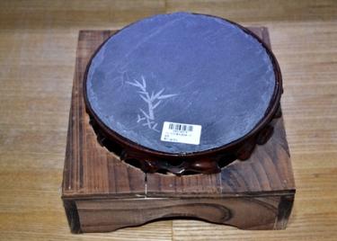 日韩料理用品—圆形石板底座